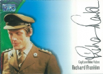Doctor Who  RICHARD FRANKLIN as Captain Mike Yates  AUTOGRAPH CARD AU4, Strictly Ink -  10640